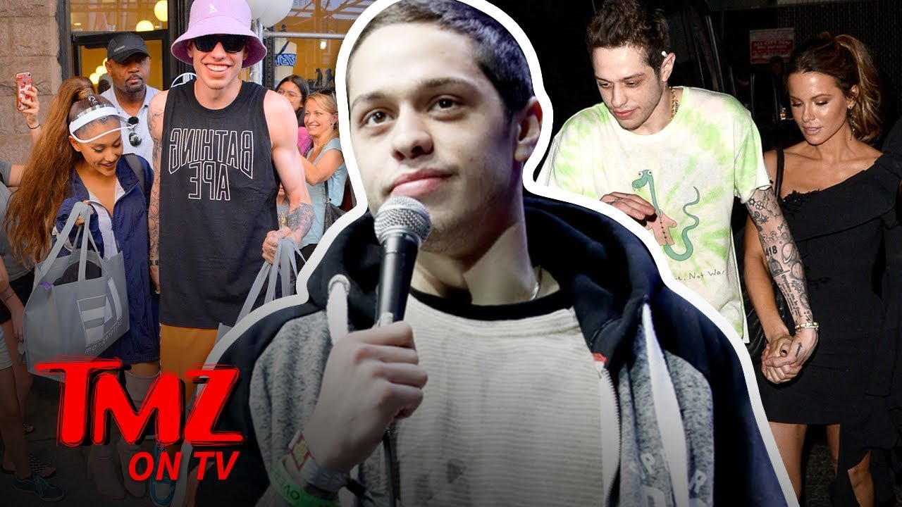 Pete Davidson Leaves Comedy Gig Becuase Of His Exes | TMZ TV 4