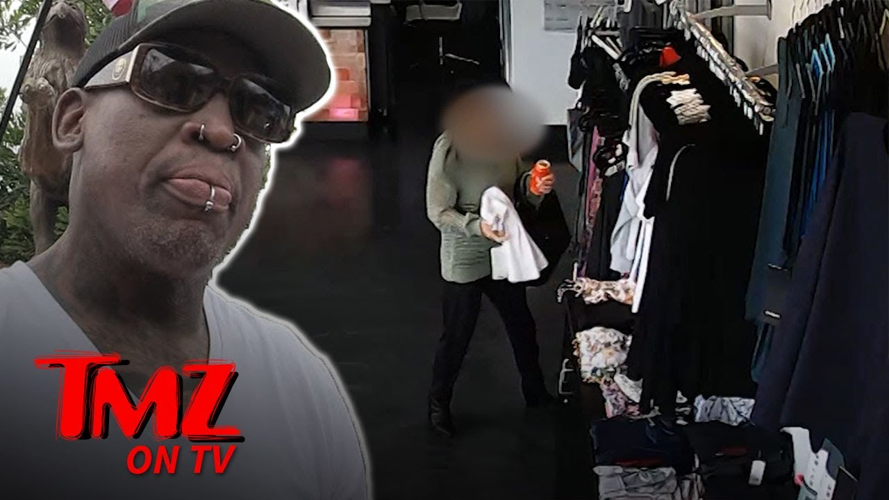Dennis Rodman Denies Stealing Clothes! | TMZ TV 1