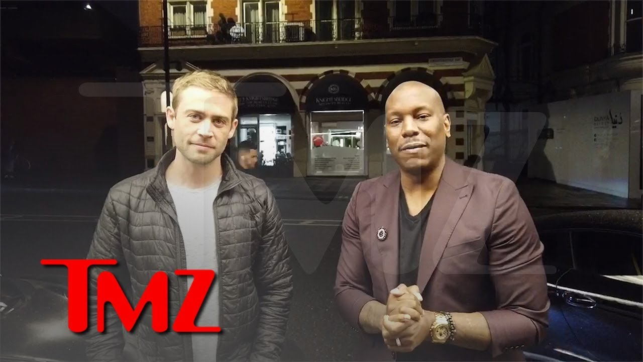 Tyrese Teams Up with Paul Walker's Brother for FuelFest in UK | TMZ 4