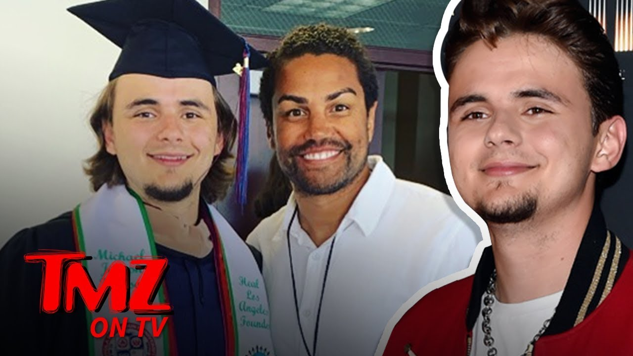 Michael Jackson's son Prince Jackson Graduates from College | TMZ TV 1