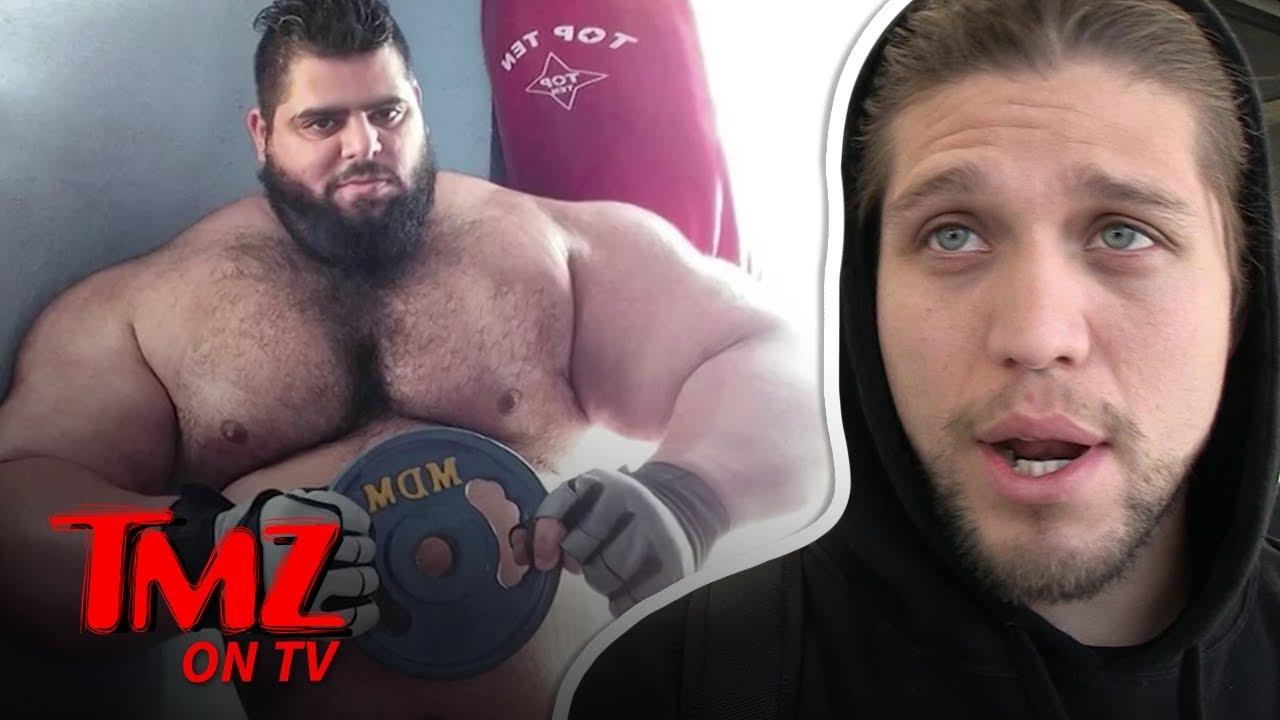 UFC Star Says He'd Destroy 'Iranian Hulk' | TMZ TV 1