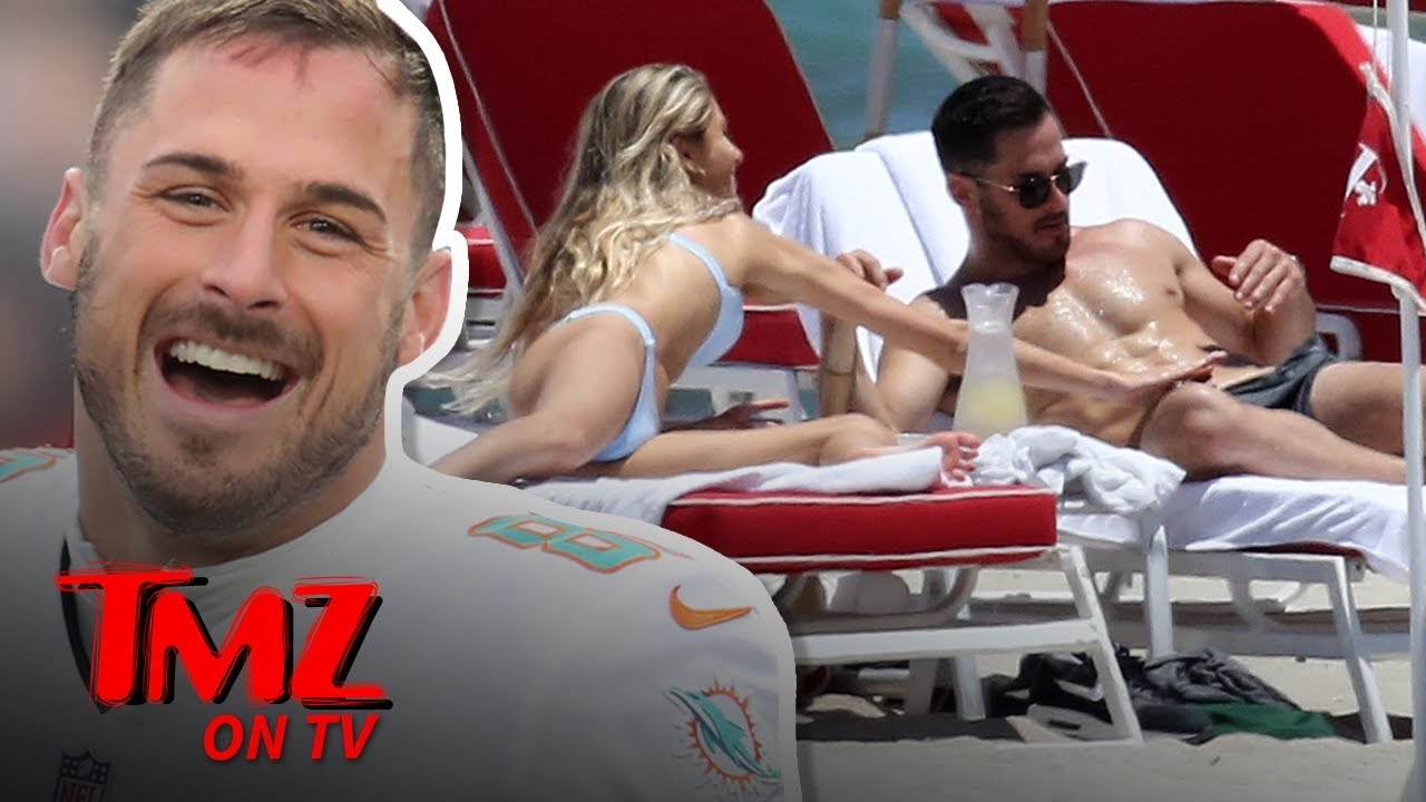 Danny Amendola Moves on From Olivia Culpo with New Beach Babe | TMZ TV 1