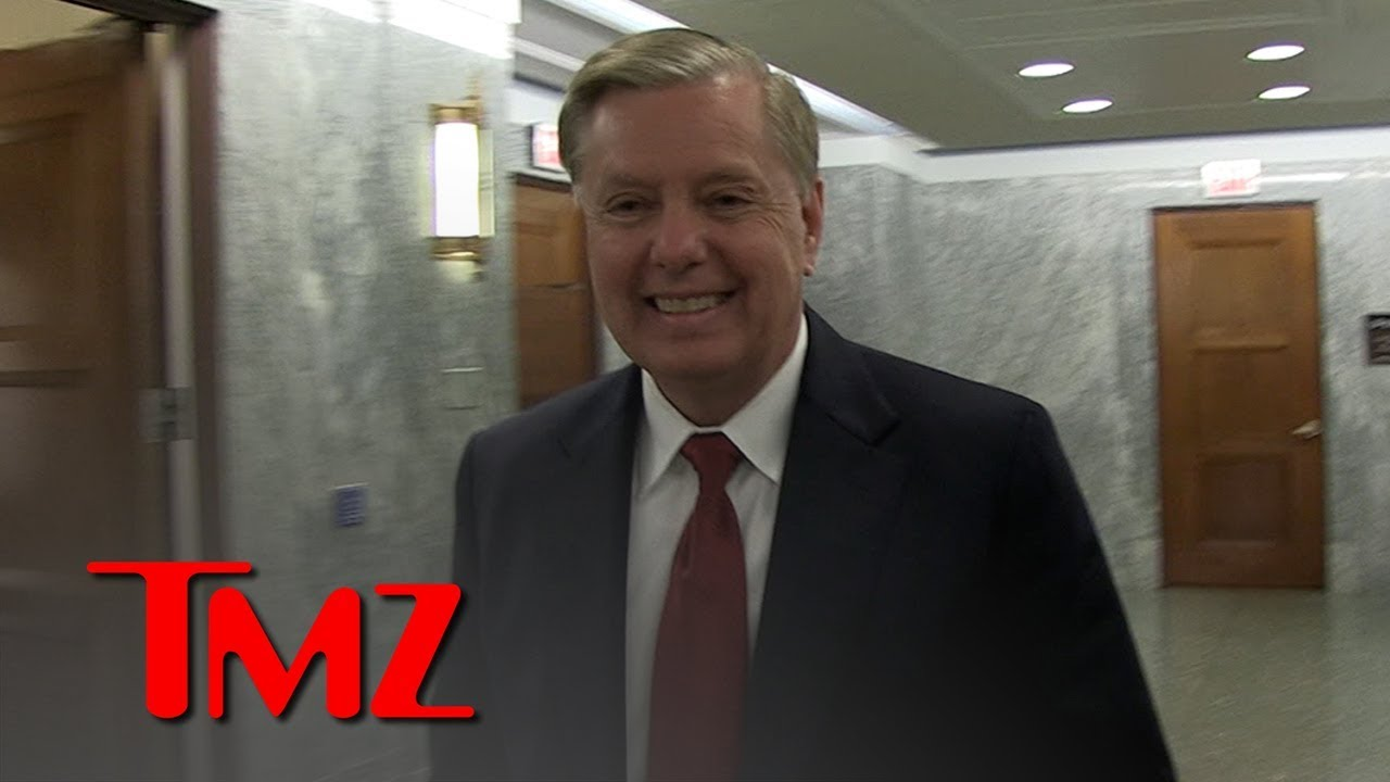 Lindsey Graham Stands By F-Bomb Comment | TMZ 3