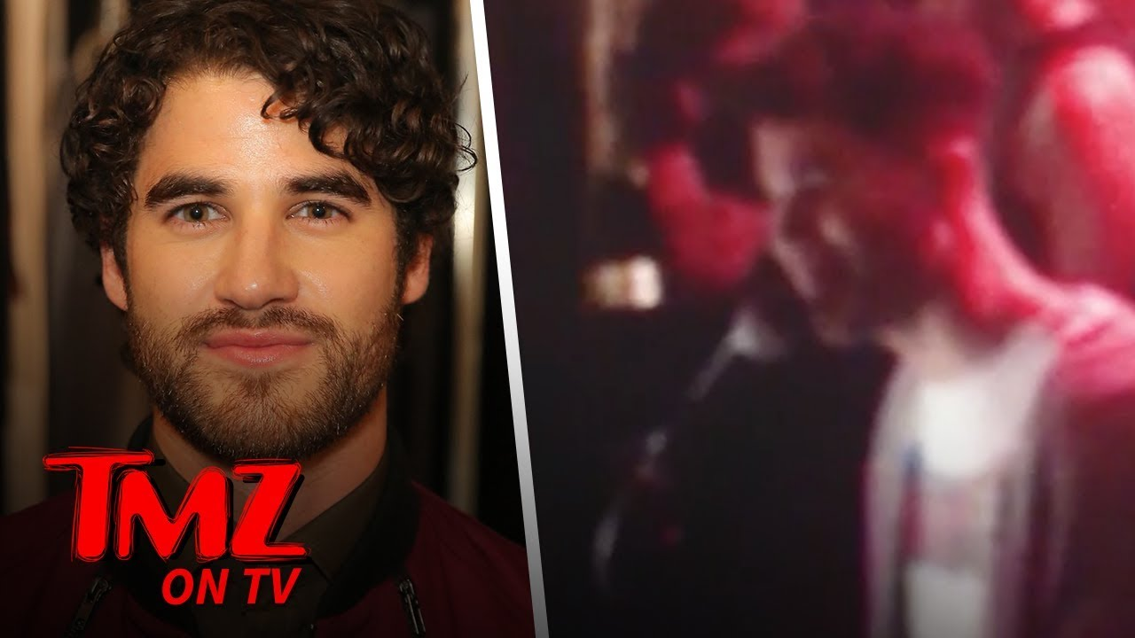 Darren Criss Sings 'Shallow' at Karaoke Piano Bar | TMZ TV 5
