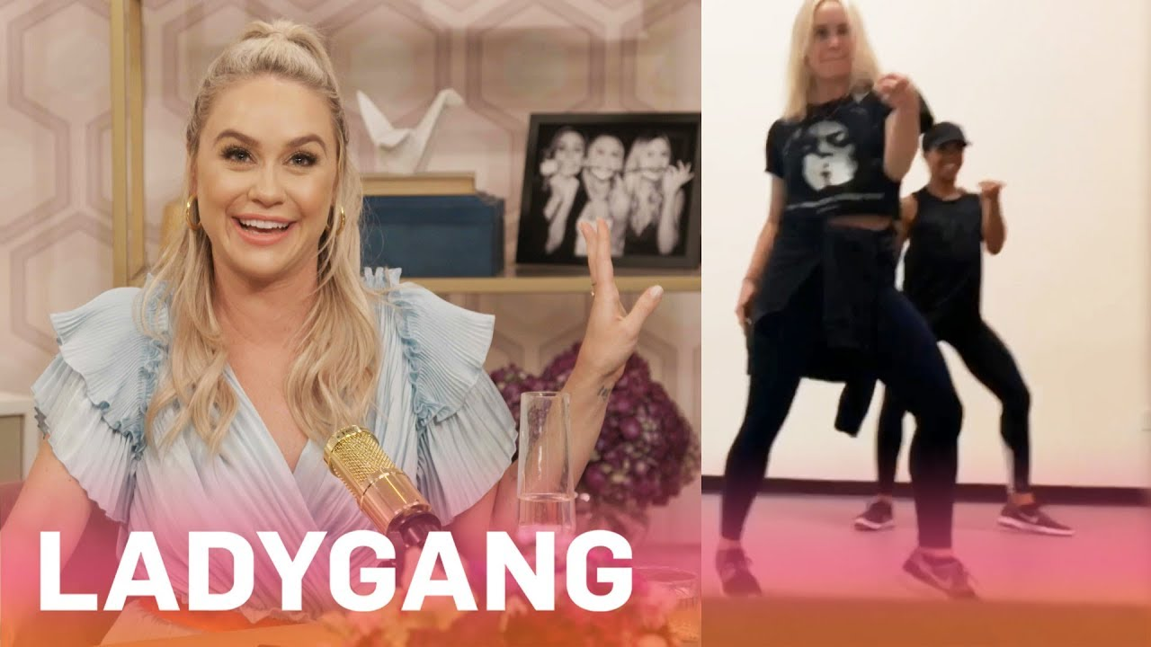 Becca Tobin Takes Dance Lessons With Beyonce's Backup Dancer | LadyGang | E! 9