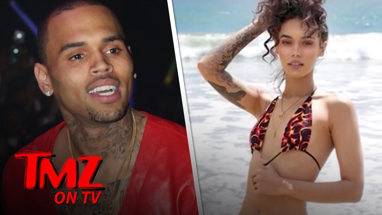 Chris Brown's Reported New Fling Indyamarie Is Hot, Hot, Hot! | TMZ TV 4