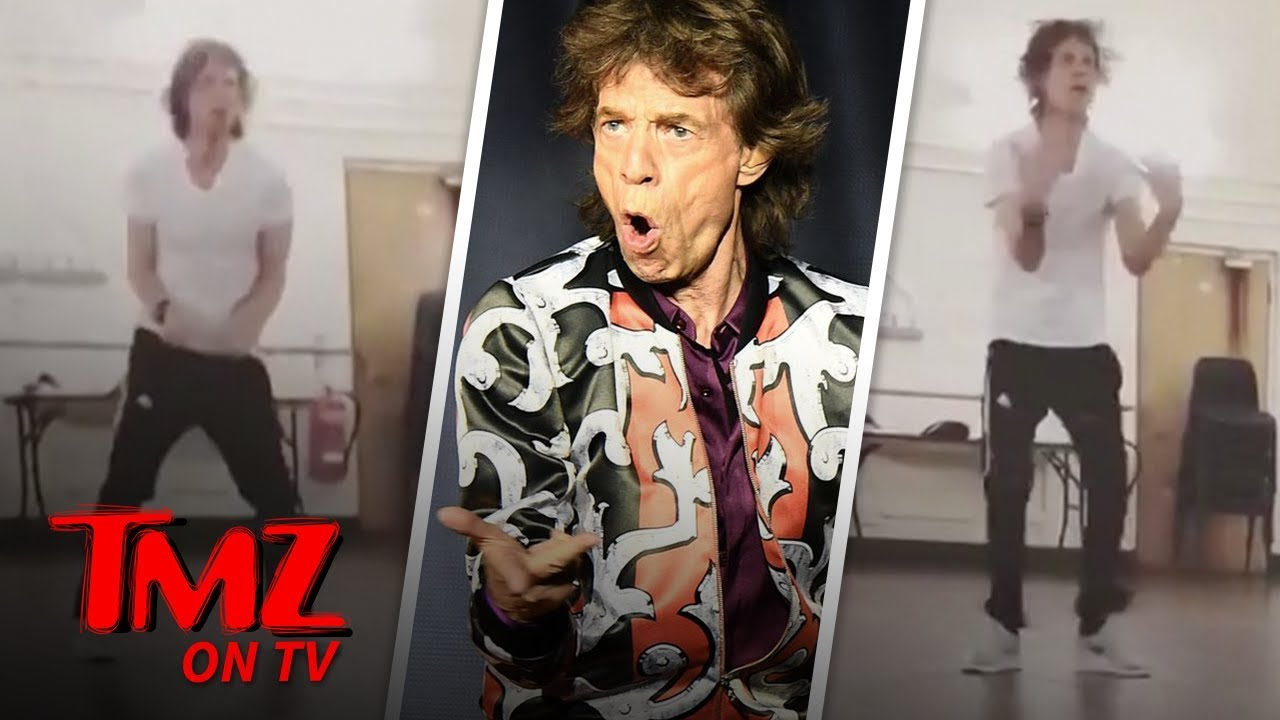 Mick Jagger is Dancing His Ass Off One Month After Heart Surgery | TMZ TV 1