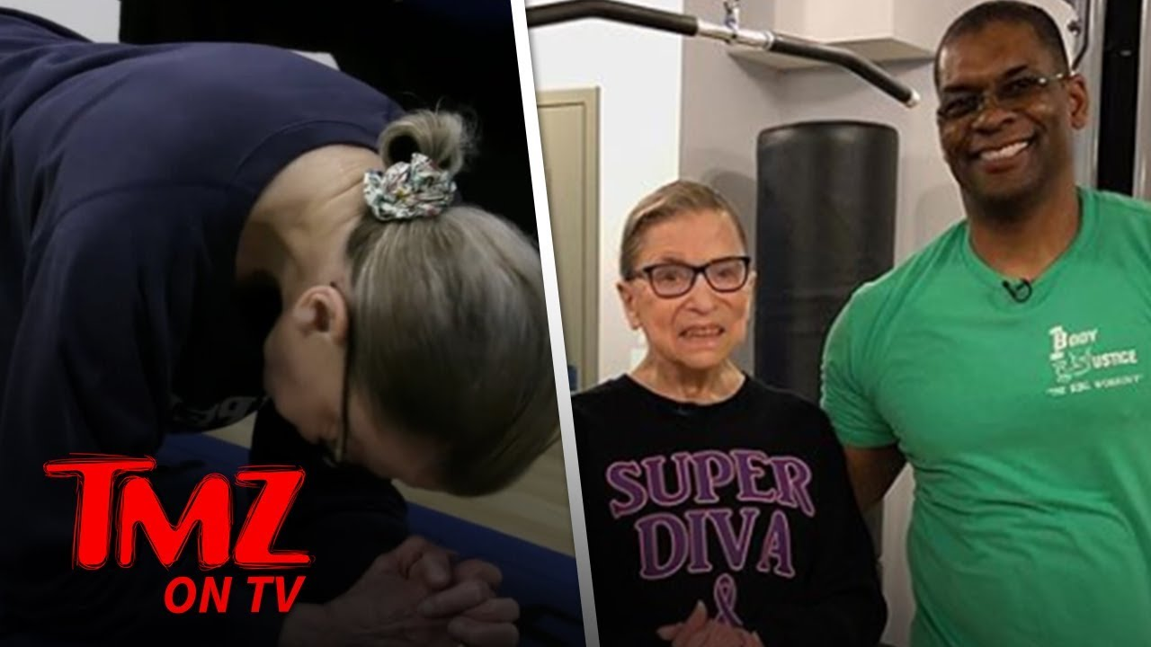 RBG's Personal Trainer Says She Could Beat Betty White In A Fight! | TMZ TV 3