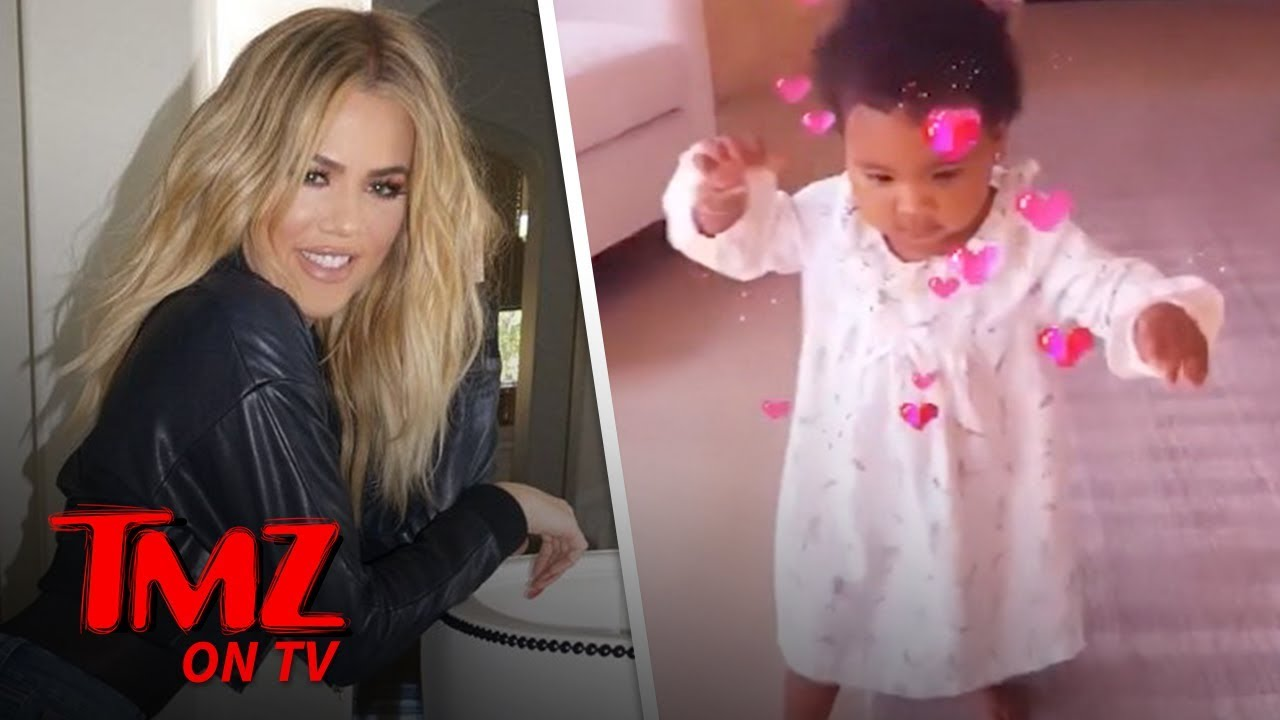 Khloe Kardashian Shares First Video Of Her Daughter, True, Walking! | TMZ TV 3