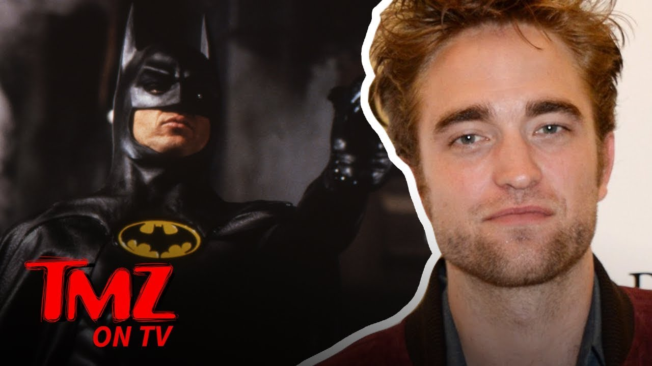 Robert Pattinson Is The Next Batman! | TMZ TV 3
