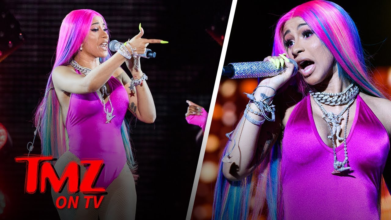 Cardi B Cancels Baltimore Concert, Blames Plastic Surgery | TMZ TV 4