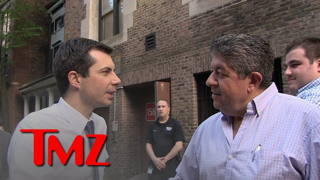 Mayor Pete Buttigieg Bros Down in Maltese Street Conversation | TMZ 1