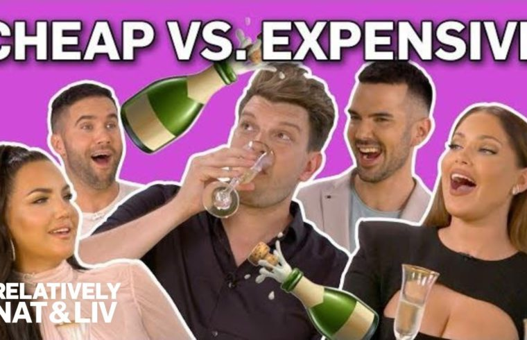 "Popping Champagne Bottles With ""Relatively Nat & Liv"" Stars 
