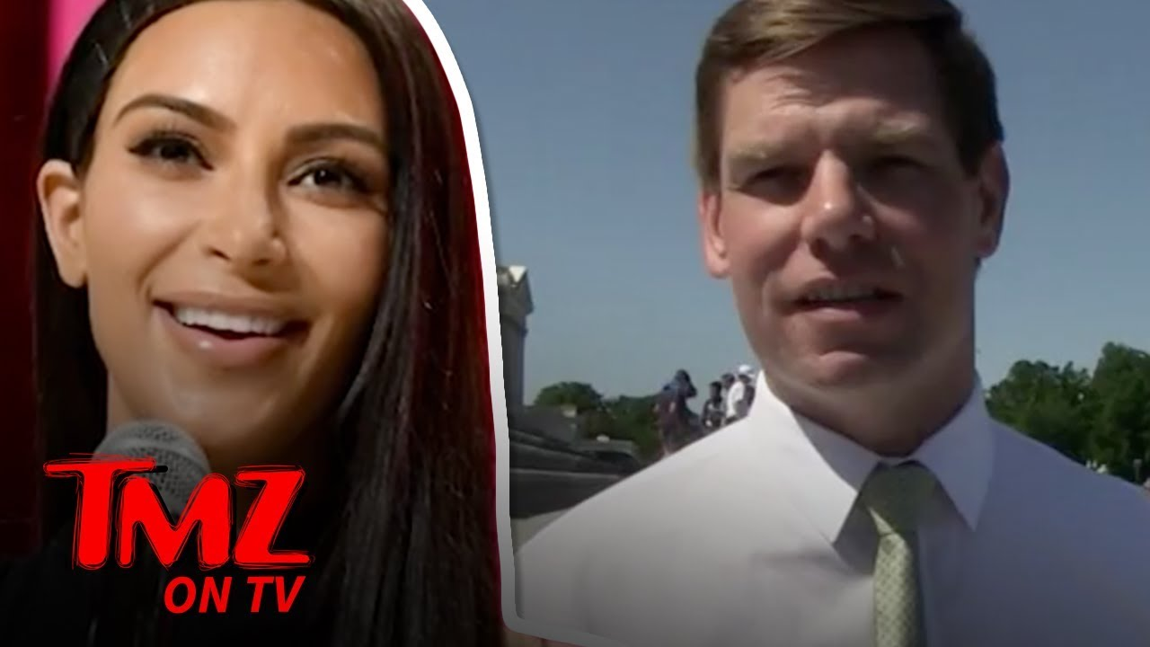 Rep. Eric Swalwell Gives Kim Kardashian Advice on Passin the Bar Exam | TMZ TV 1