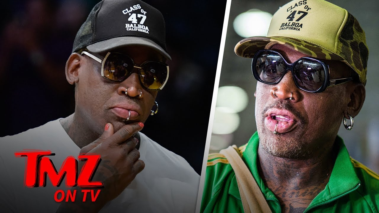 Dennis Rodman Accused Of Slapping A Man! | TMZ TV 5