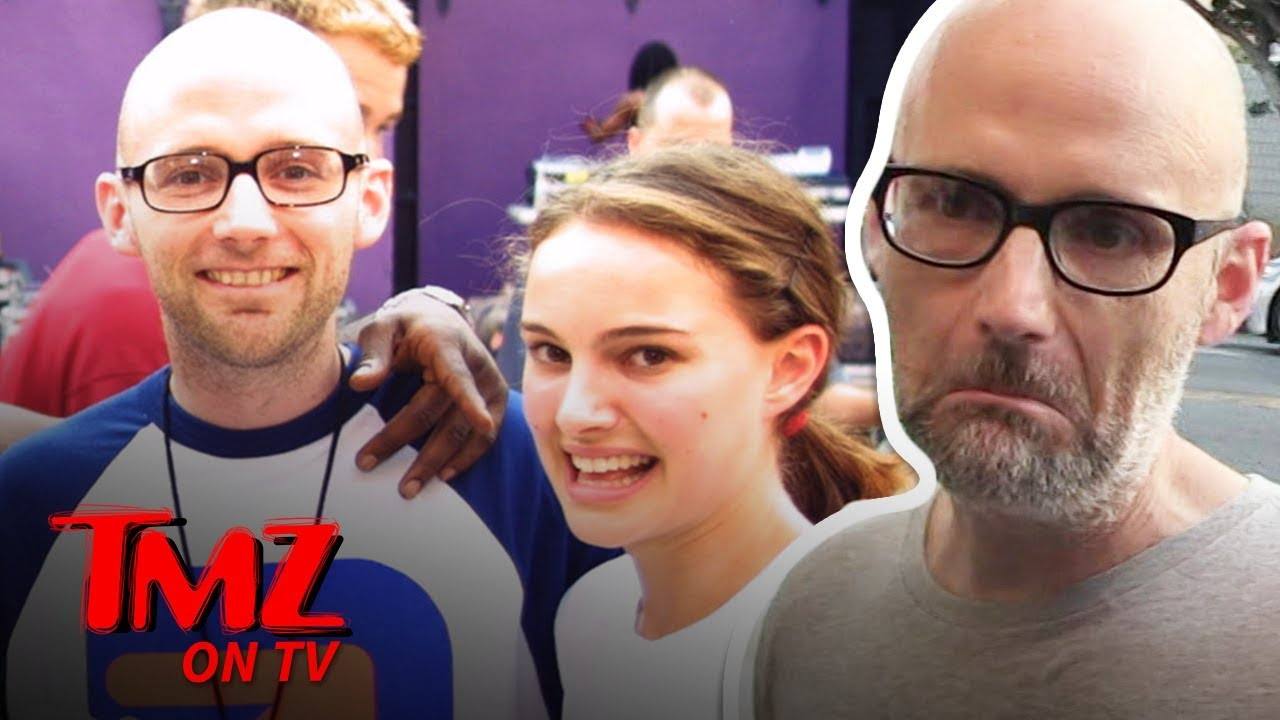 Moby Gives An Awkward Apology For Saying He Dating Natalie Portman | TMZ TV 3