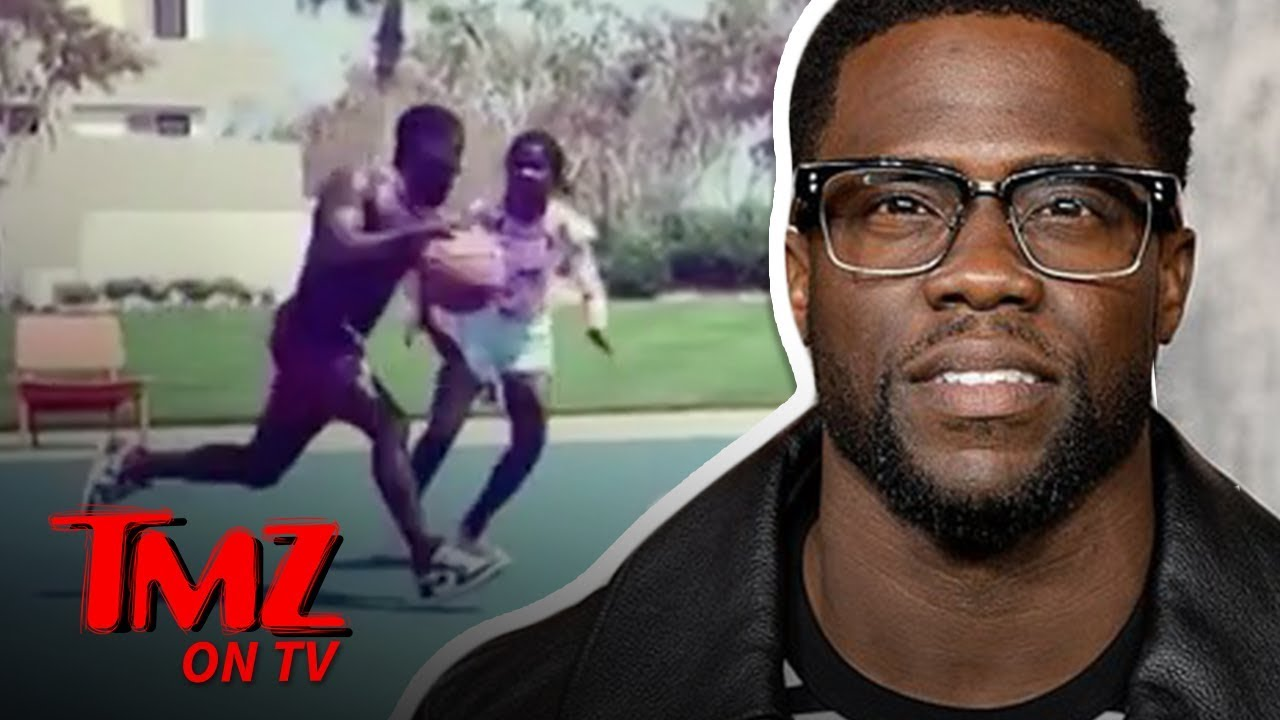 Kevin Hart Doesn't Go Easy While Playing 1-On-1 With His Daughter | TMZ TV 1