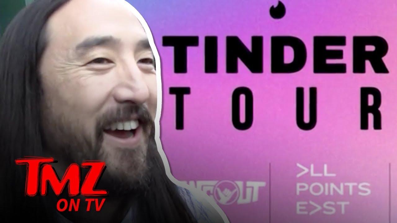 "Steve Aoki Says Tinder's New ""Festival Mode"" Is Wack | TMZ 2"