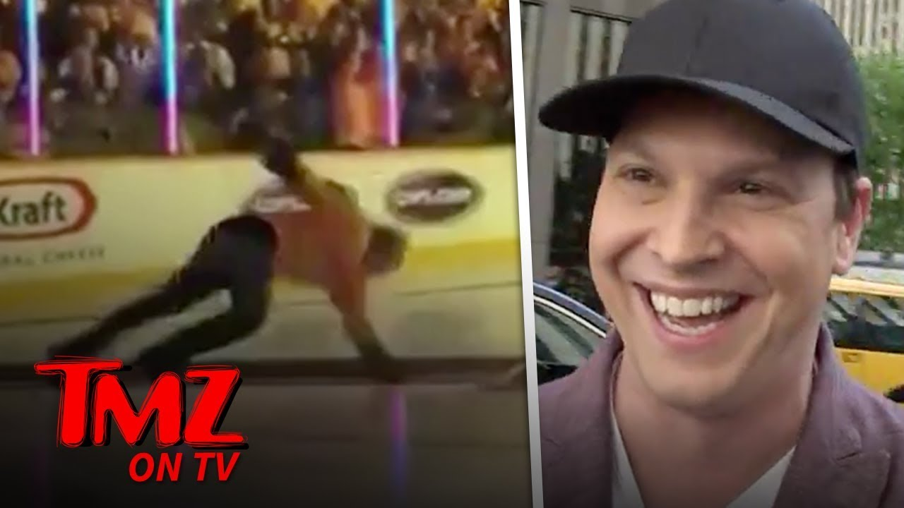 Gavin DeGraw Talks About His Nasty Fall On The Ice | TMZ TV 2
