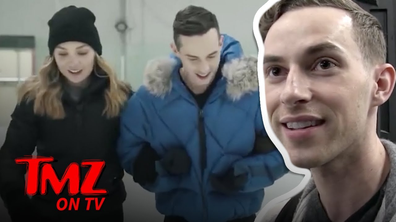 Adam Rippon Has A New Ice Skating Talk Show | TMZ TV 1
