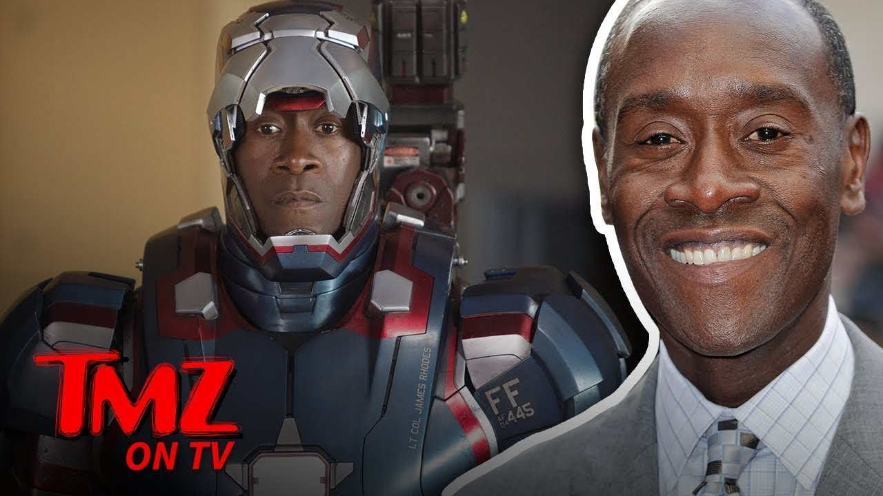 Don Cheadle Answers Spoil-Heavy 'Avengers' Question! | TMZ TV 2