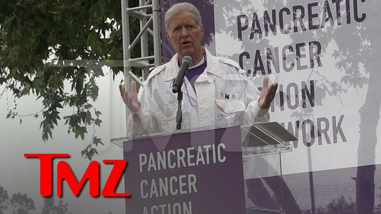 Alex Trebek Says Pancreatic Cancer Survivors Like 'Jeopardy' James Holzhauer | TMZ 5