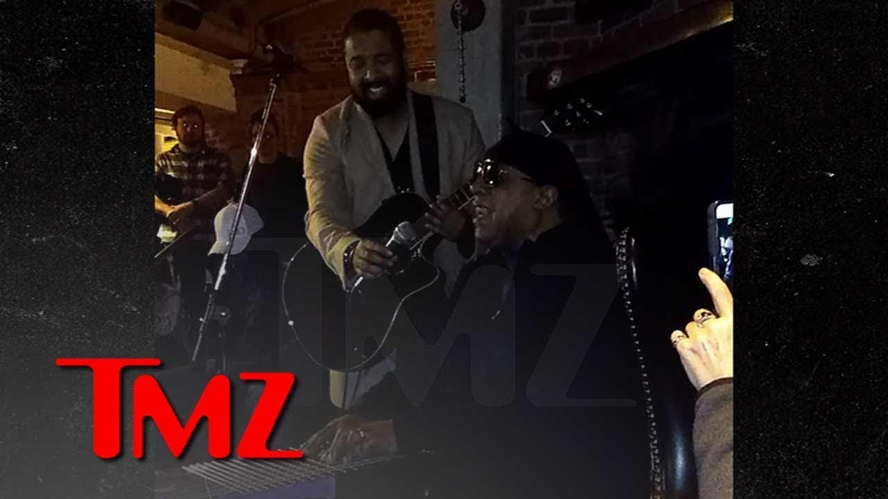 Stevie Wonder Plays Impromptu Acoustic Set During Dinner in L.A. | TMZ 5
