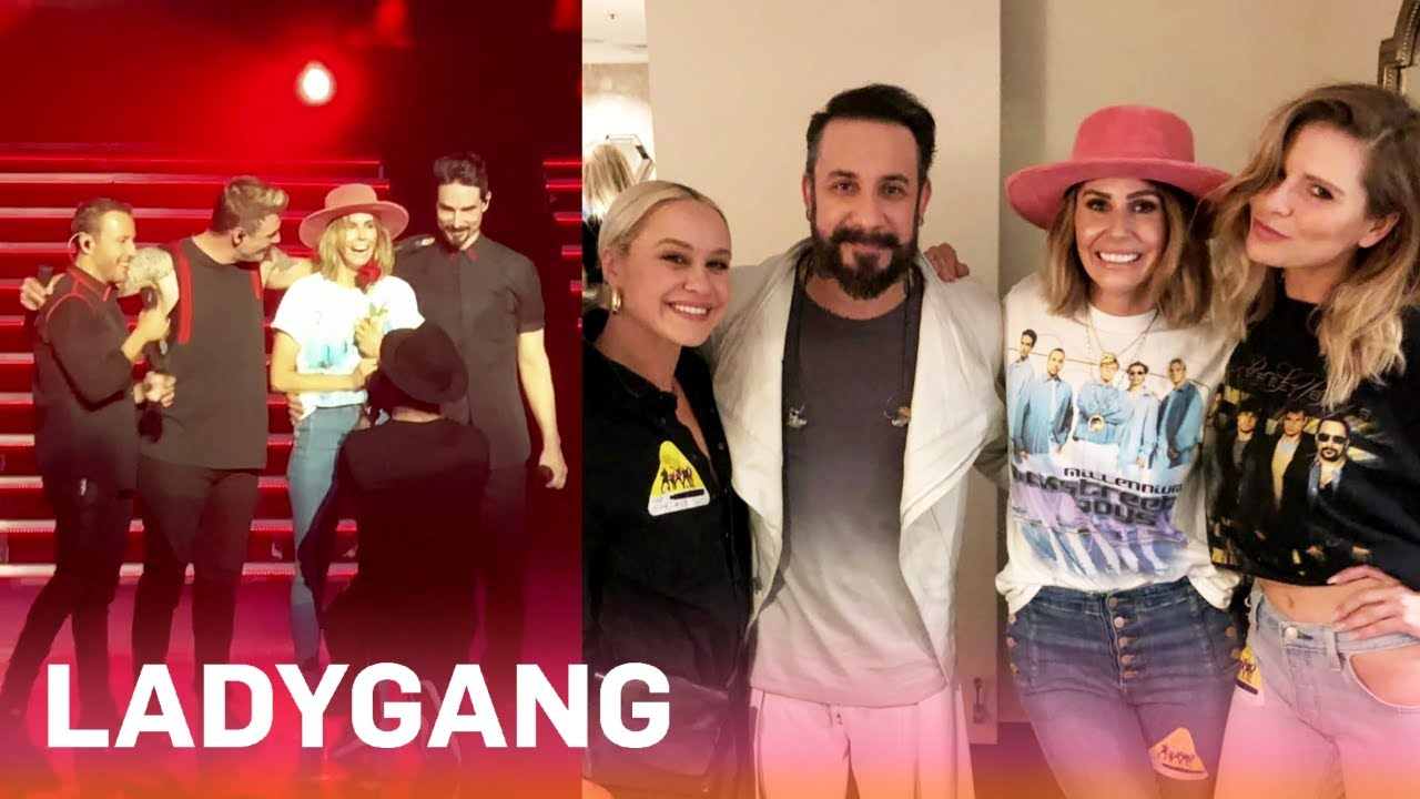 AJ McLean Proposes Onstage at Backstreet Boys Concert?! | LadyGang | E! 1