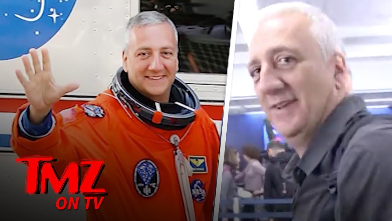 Astronaut Says A Woman Can be The First Person On Mars | TMZ TV 4