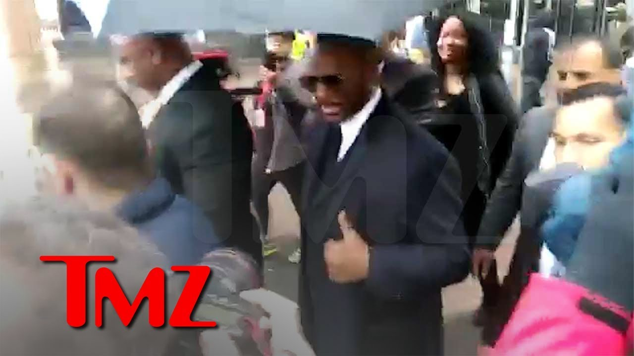 R. Kelly In Court Challenging Sex Tape, Avenatti and Kim Foxx | TMZ 1