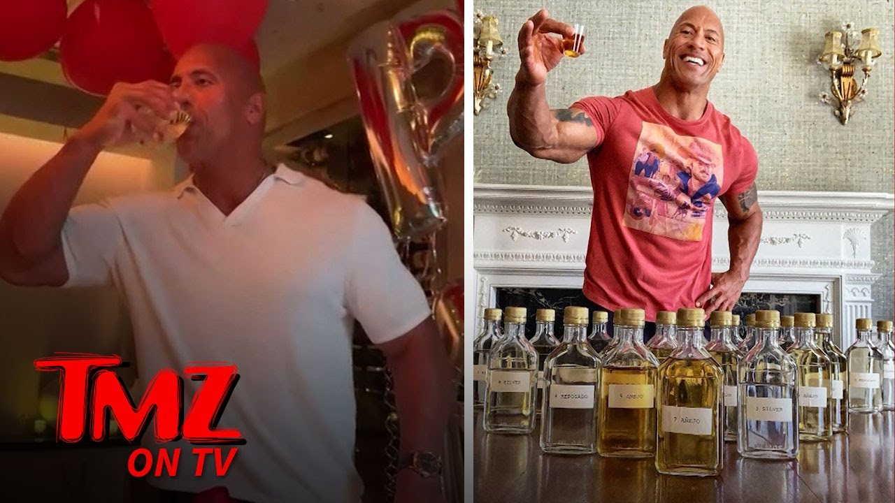 Dwayne Johnson Rings In His 47th Birthday With A Lot Of Meat! | TMZ TV 5