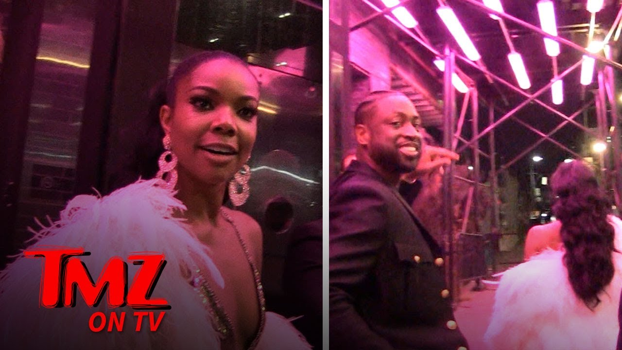 Gabrielle Union And Dwayne Wade Are Ready To Be The Next Power Couple | TMZ TV 3