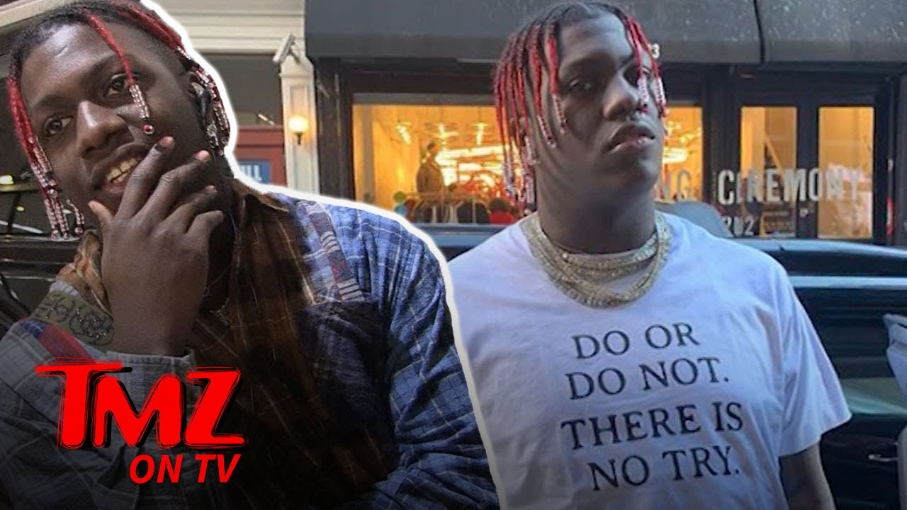 Lil Yachty gets Trolled For His Weight! | TMZ TV 4
