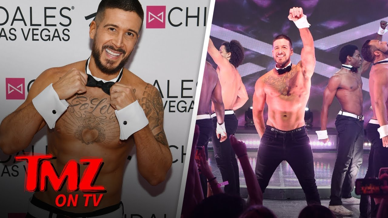 Vinny From Jersey Show Is Returning to Chippendales | TMZ TV 1
