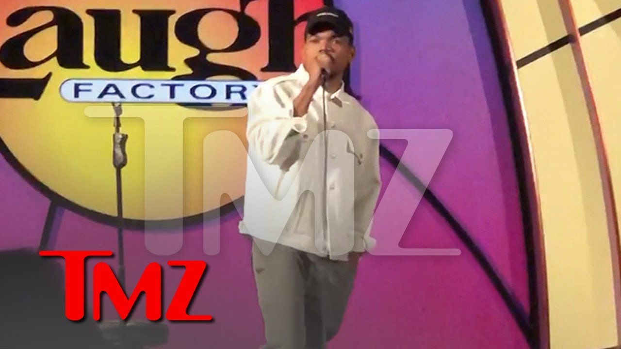 Chance the Rapper Tries His Hand at Stand-Up Comedy at Laugh Factory | TMZ 4