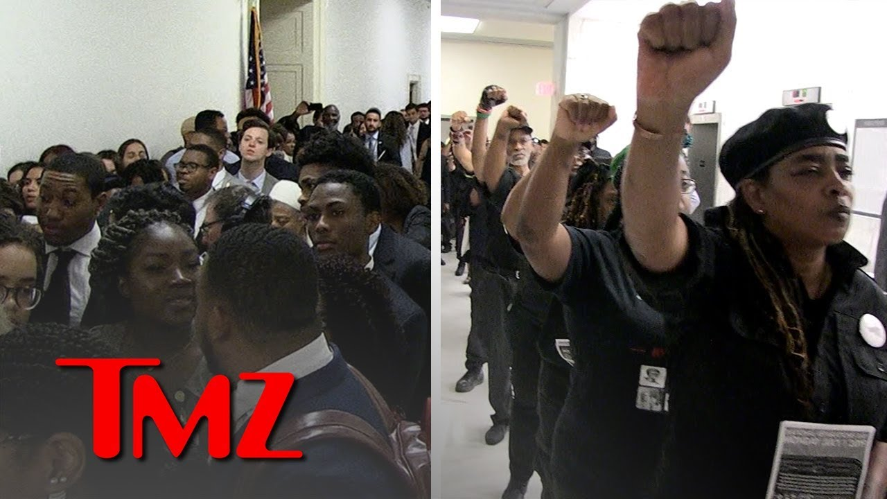 Slavery Reparations Hearing Prompts Massive Crowd on Capitol Hill | TMZ 5