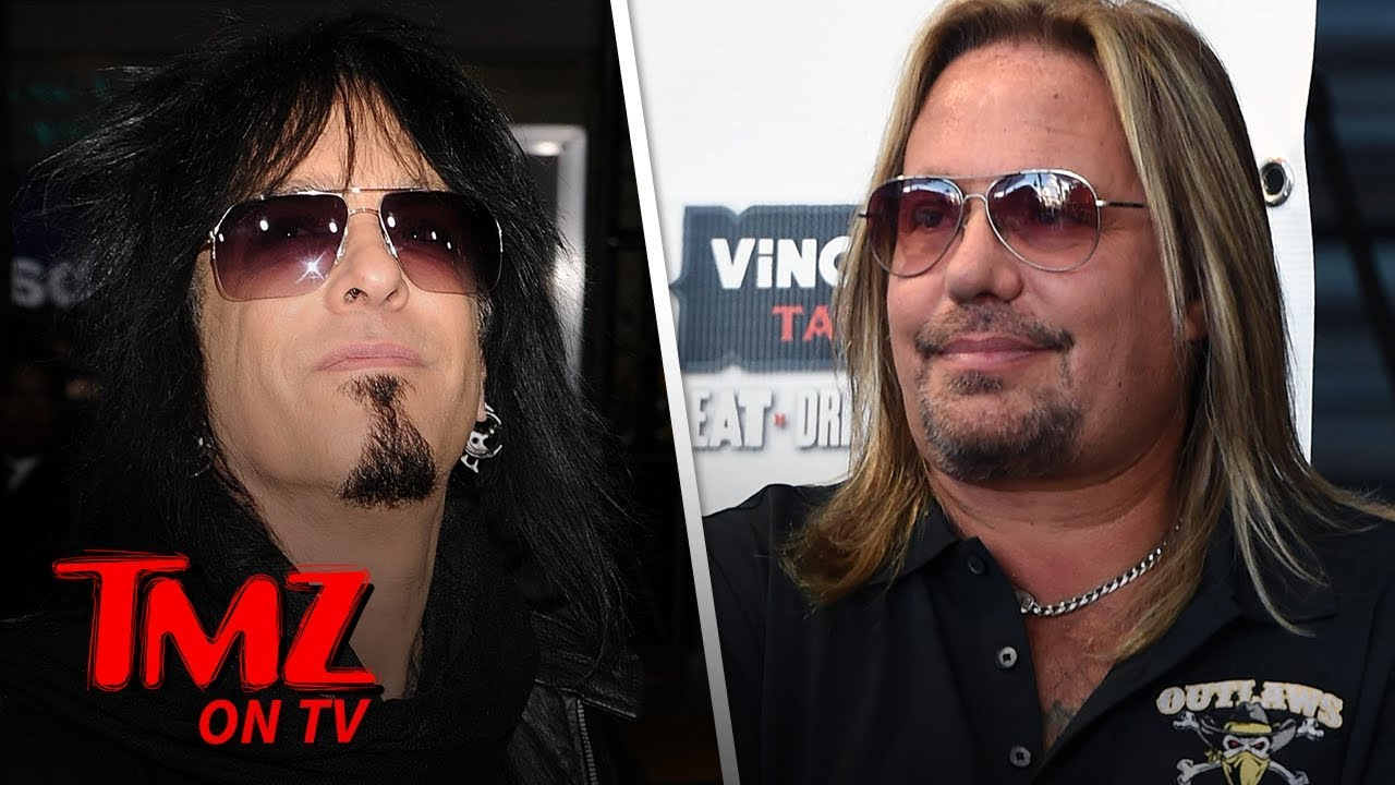 Motley Crue's Vince Neil and Nikki Sixx Threaten Lawsuit Over Documentary | TMZ TV 1