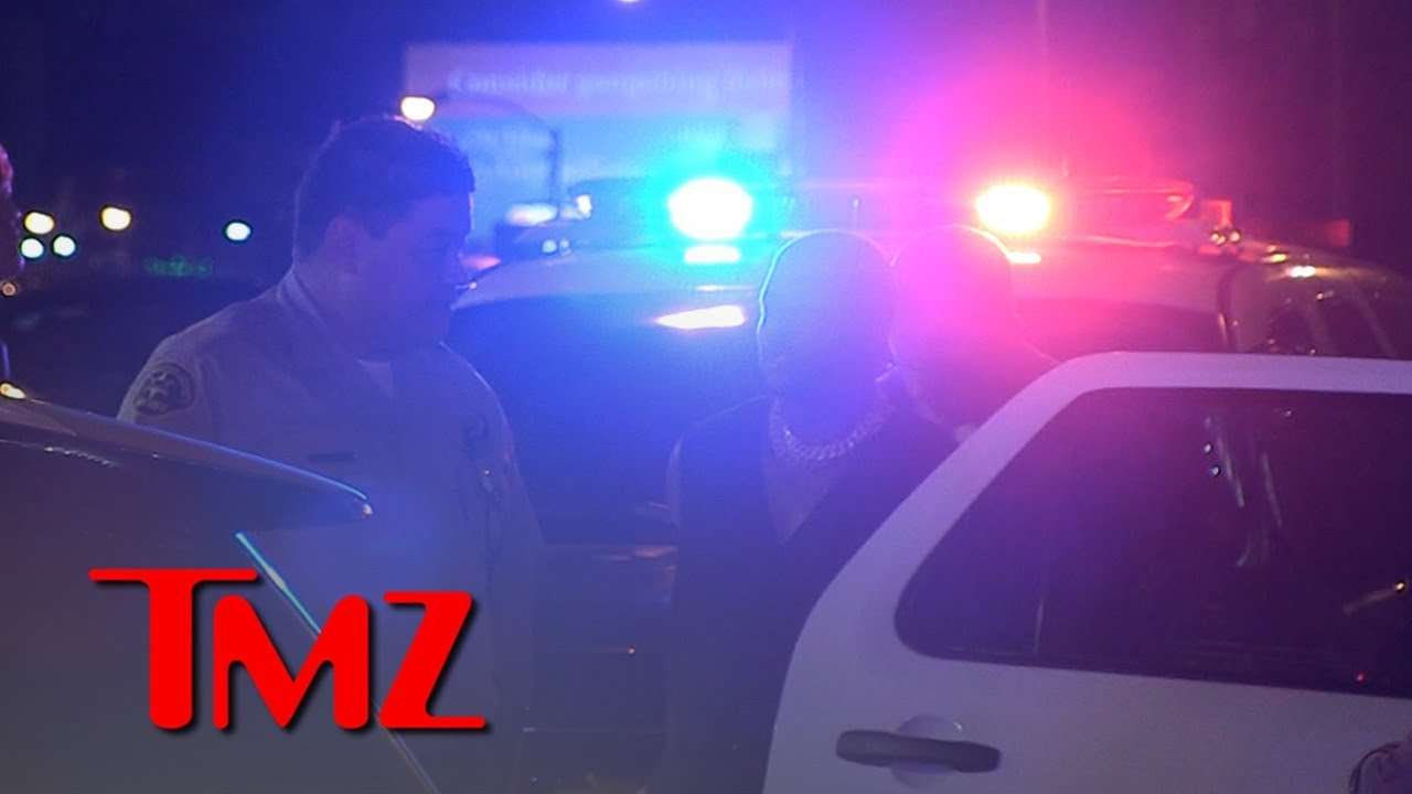 YG Swarmed by Cops and Handcuffed In Tense Traffic Stop During BET Weekend 1