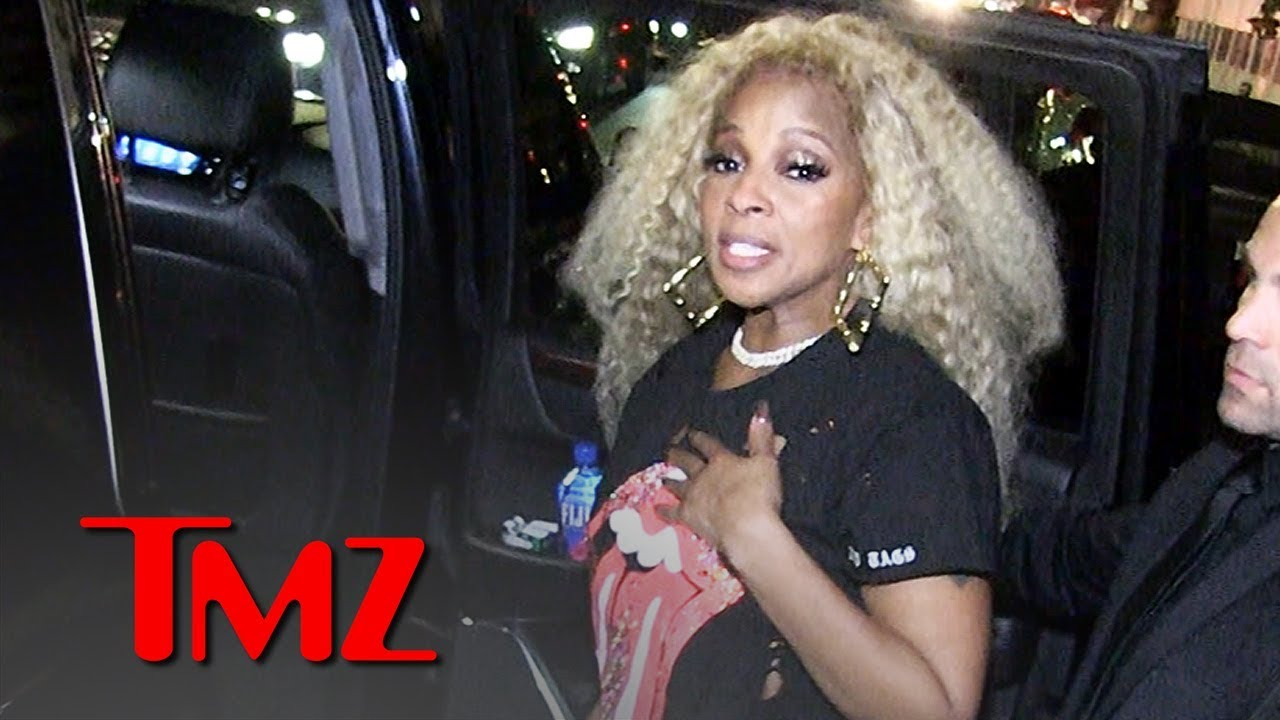 Mary J  Blige Supports Cardi B Getting Album of the Year at BET Awards | TMZ 4