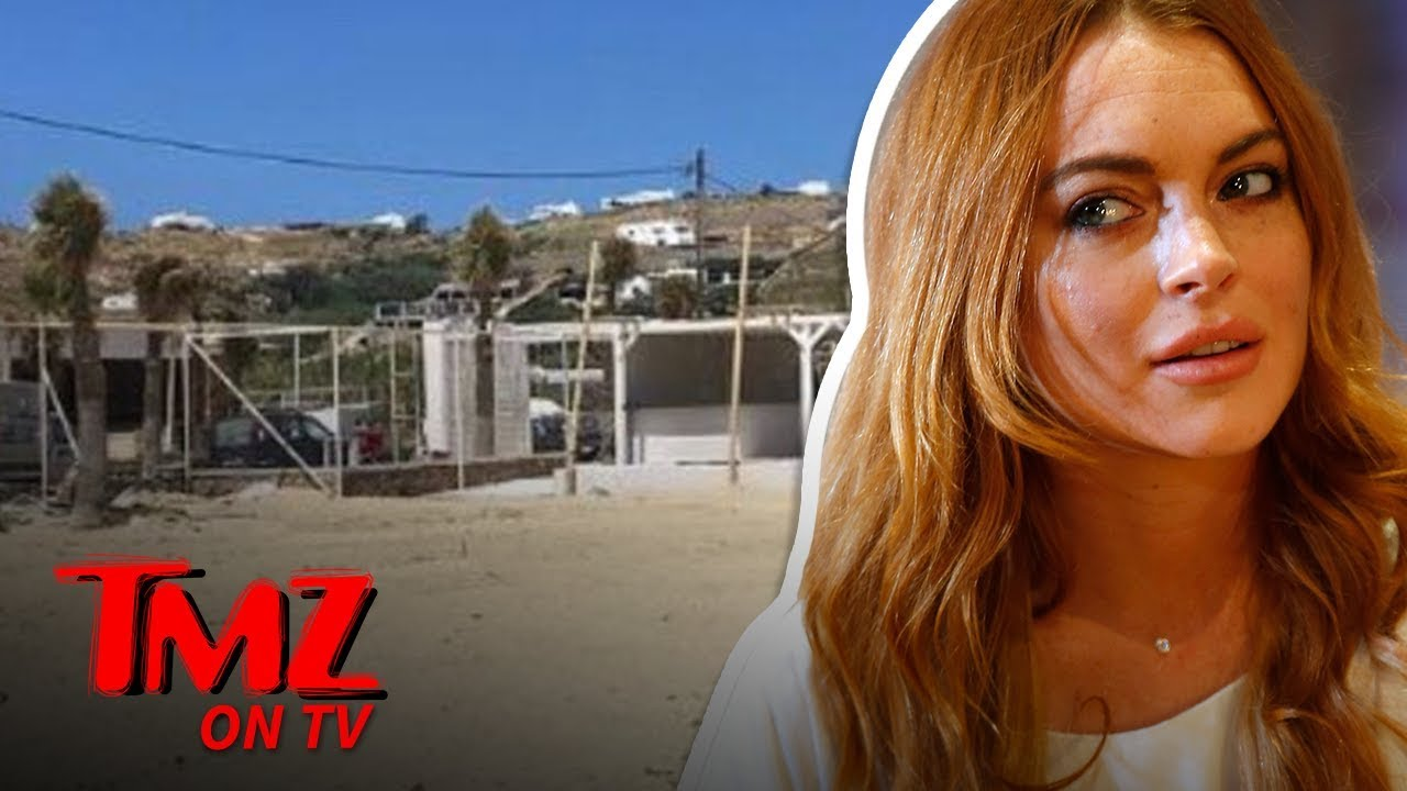 Lindsay Lohan's Beach Club Disappeared | TMZ TV 2