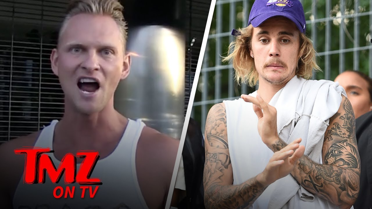 Fake Ivan Drago Challenges Justin Bieber To a Fight | TMZ TV 4