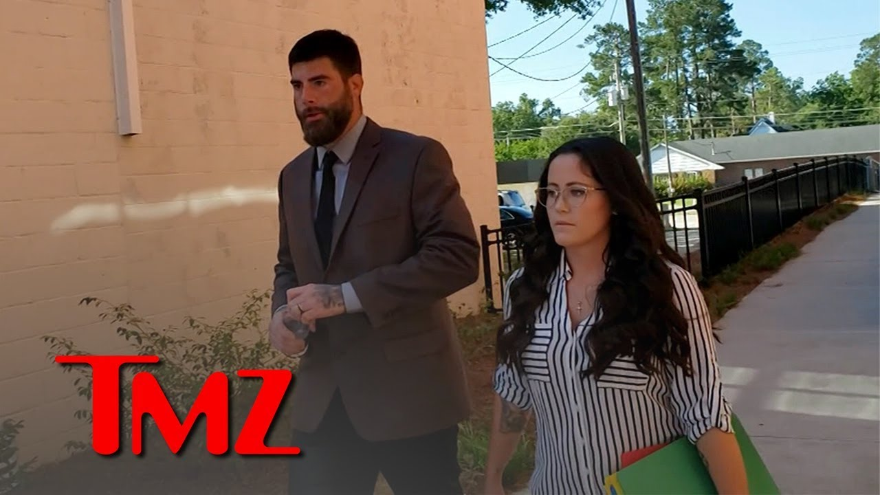 Jenelle Evans and David Eason Visit Kids and See the Judge in Custody Case | TMZ 3