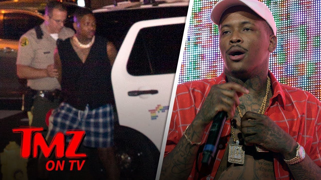 YG Arrested For Reckless Driving | TMZ TV 1