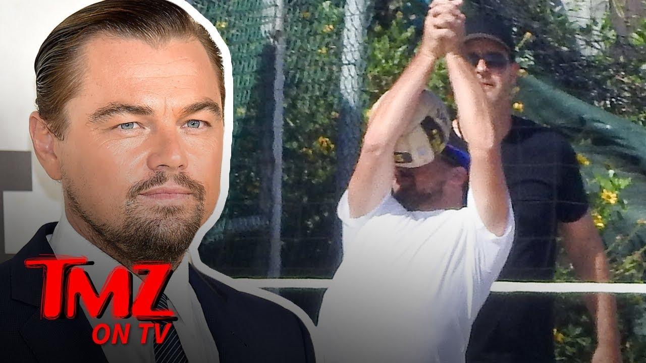 Leonardo DiCaprio Get's a Ball To The Face | TMZ TV 4