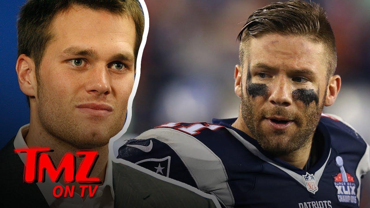 Julian Edelman Thinks Tom Brady's Avocado Ice Cream Is Gross | TMZ TV 5