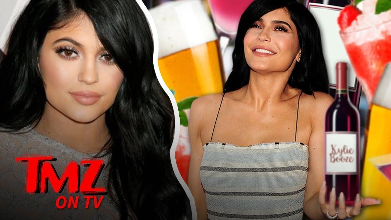 Kylie Jenner Trademarks 'Kylie Booze' | TMZ TV 4