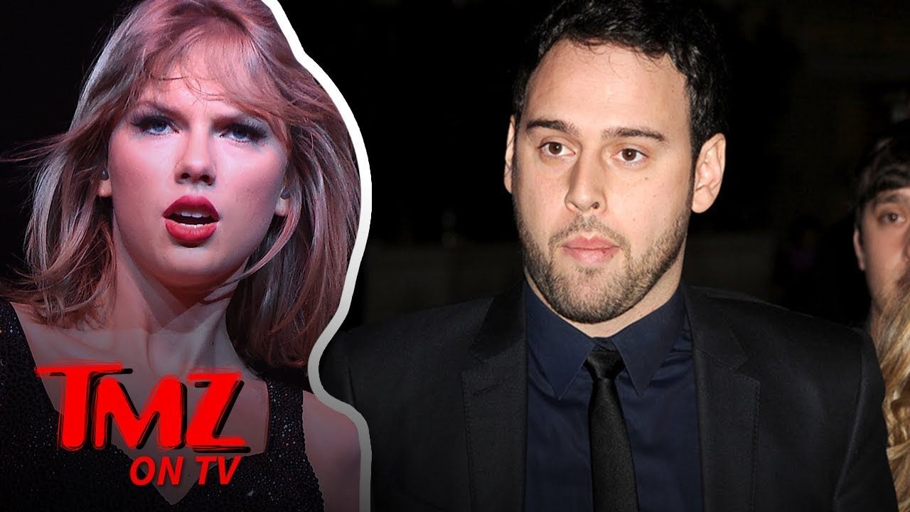 Taylor Swift & Scooter Braun Have Bad Blood | TMZ TV 5