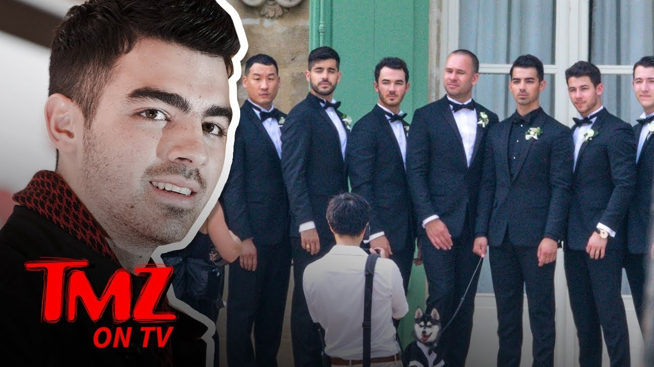 Sophie Turner & Joe Jonas Star Studded Wedding | TMZ TV 5