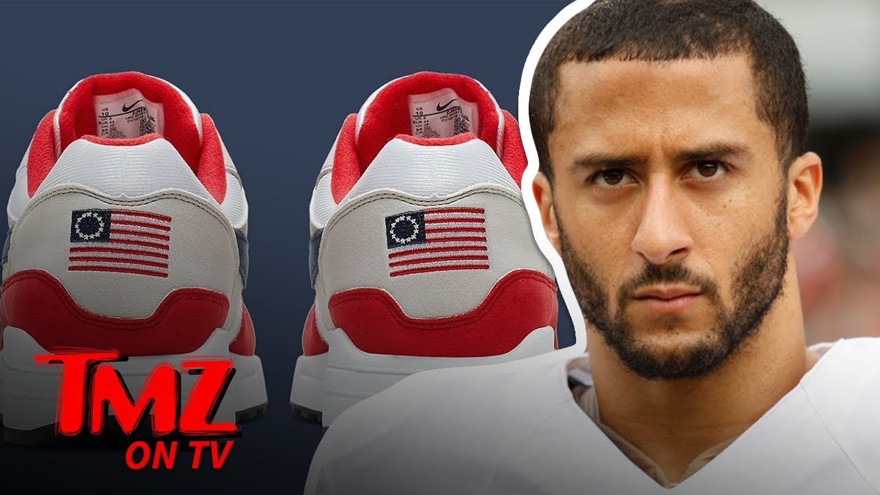 Colin Kaepernick Stopped Nike's Betsy Ross Shoes From Being Released | TMZ TV 5