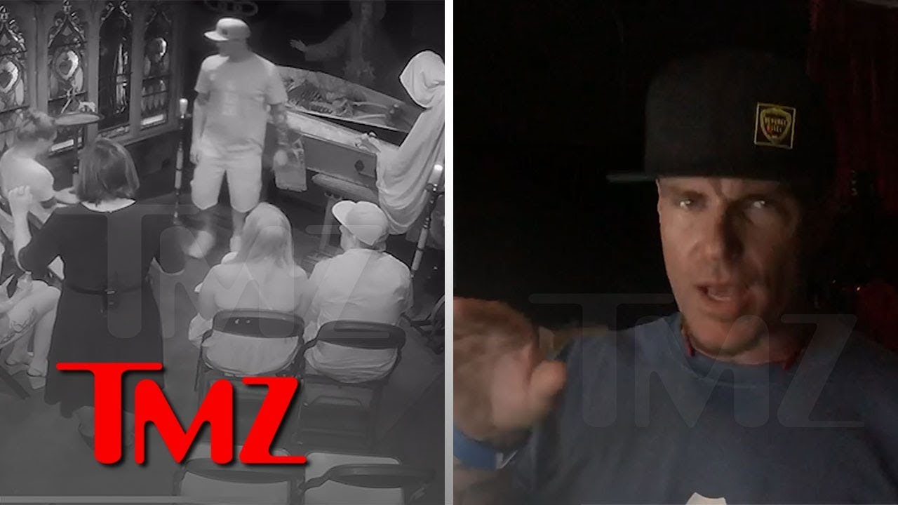 Vanilla Ice Gets Freaked Out At Zak Bagans' Haunted Museum | TMZ 6